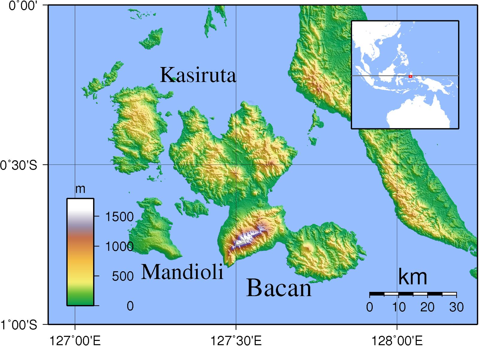 Bacan Island