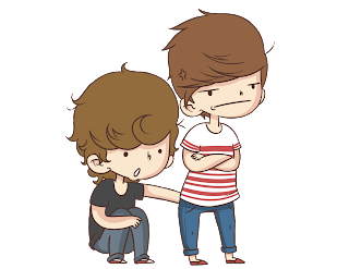 27 Caricaturas/Brushes da banda One Direction/1D