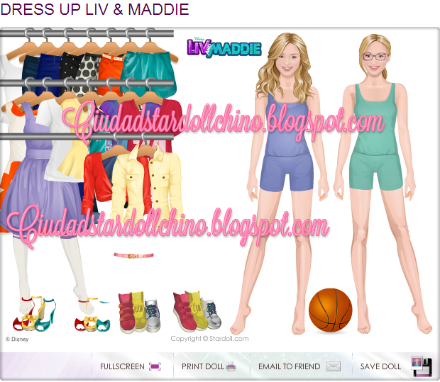 Liv And Maddie Dolls for Pinterest