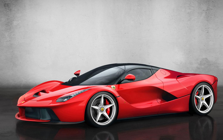 Ferrari Side View Drawings Ferrari Laferrari First Look