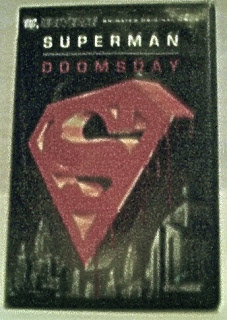 Front cover of Superman Doomsday DVD