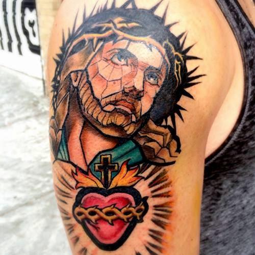 Tatuaje de Jesús original