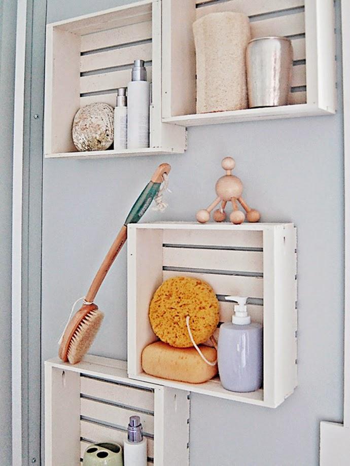 Muebles y Accesorios Reciclados para Baños