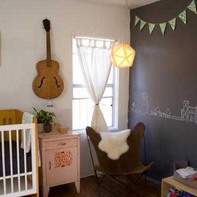 Dormitorio vintage para Bebe