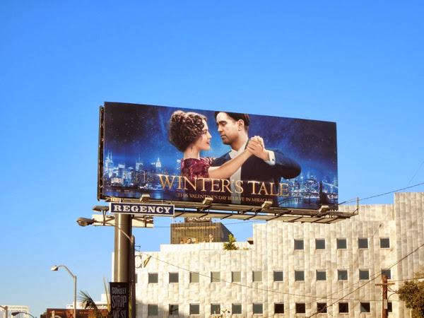 Winters Tale film billboard