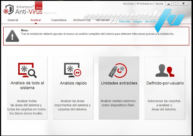 Ashampoo Anti-Virus 2014 Español
