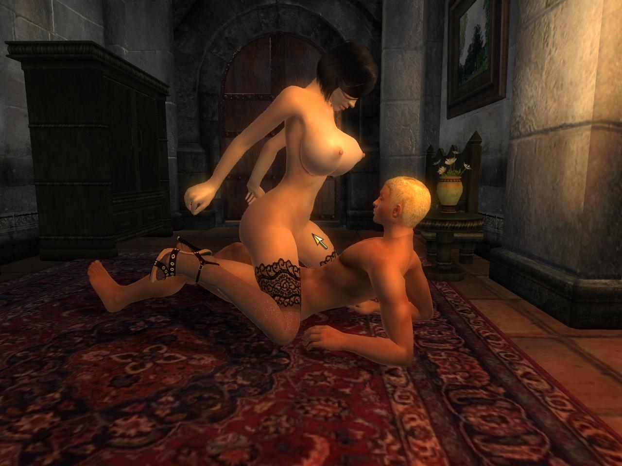 Oblivion nude females uncensored erotic toons