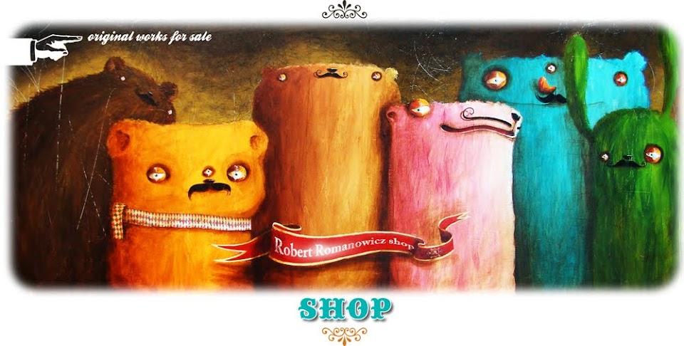 Robert Romanowicz shop
