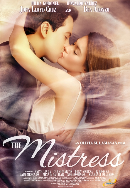 The Mistress starring John Lloyd Cruz and Bea Alonzo Official Movie Poster