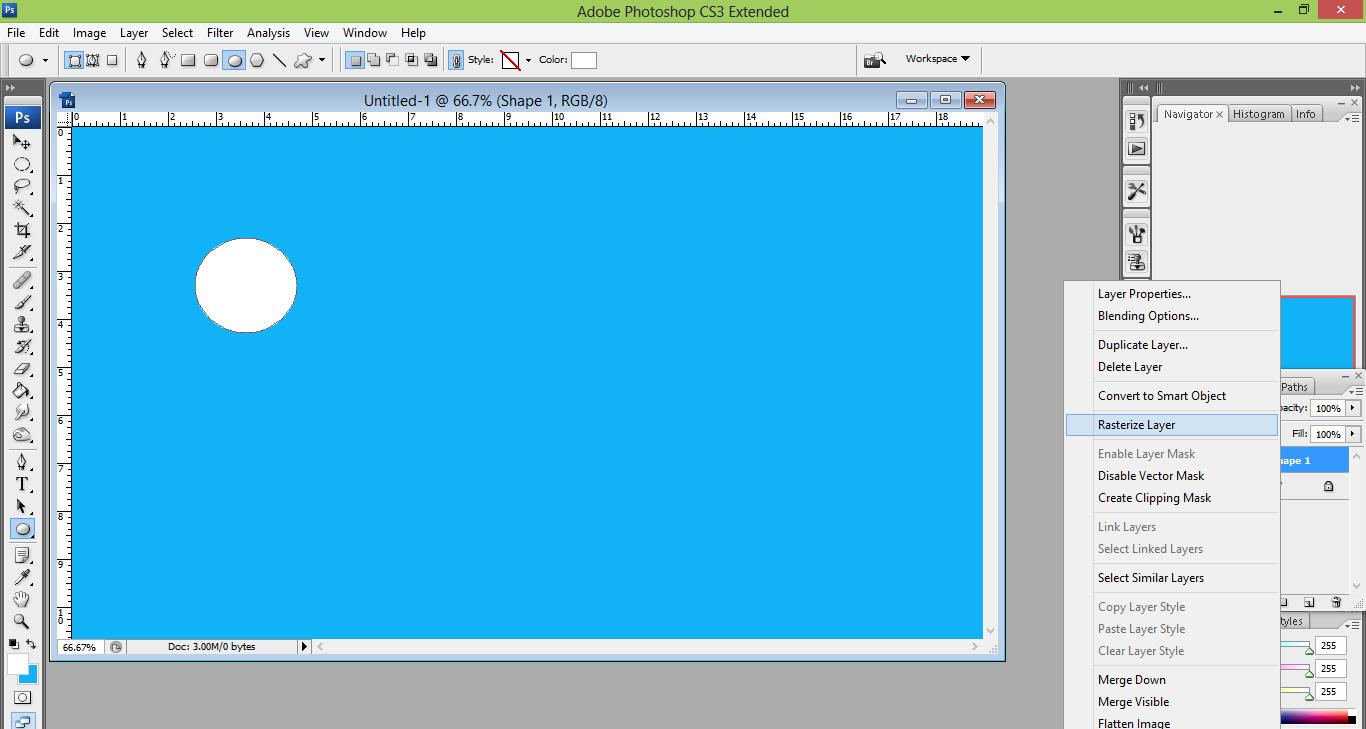 pic cara belajar how to create tutorial photoshop pemula membuat air 2
