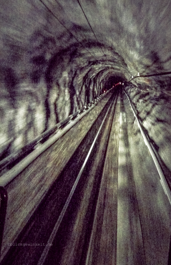 Tunnel der Jungfraubahn