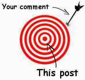 your comment. this post