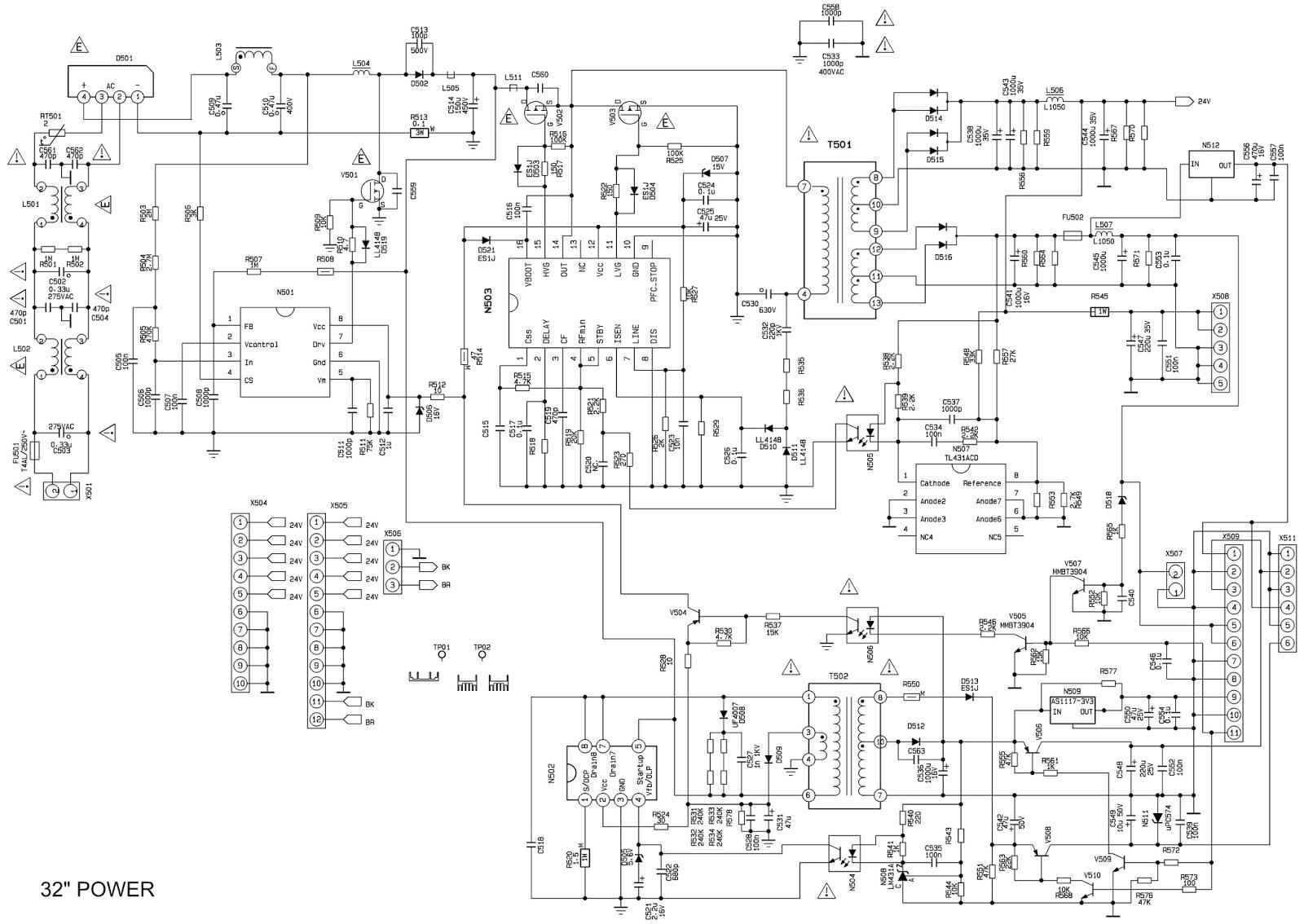 bbk lt 3210 lcd tv 32 power supply 26 power supply 26 t rh electronicshelponline blogspot com Travel Trailer Inverter Wiring Diagram Solar Inverter Wiring Diagram