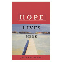 Country girl Janet Chester Bly, author of Hope Lives Here