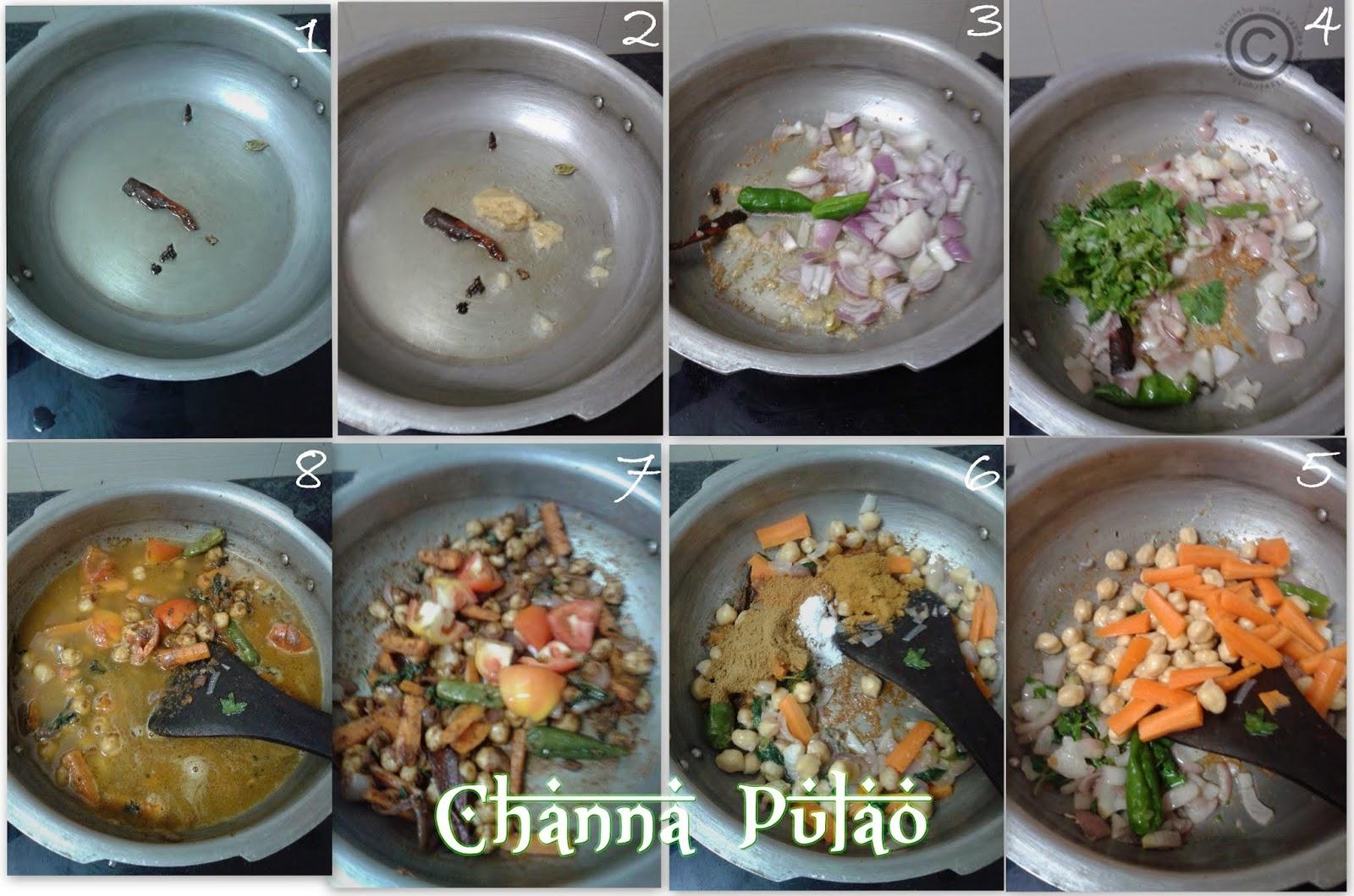Channa-pulao