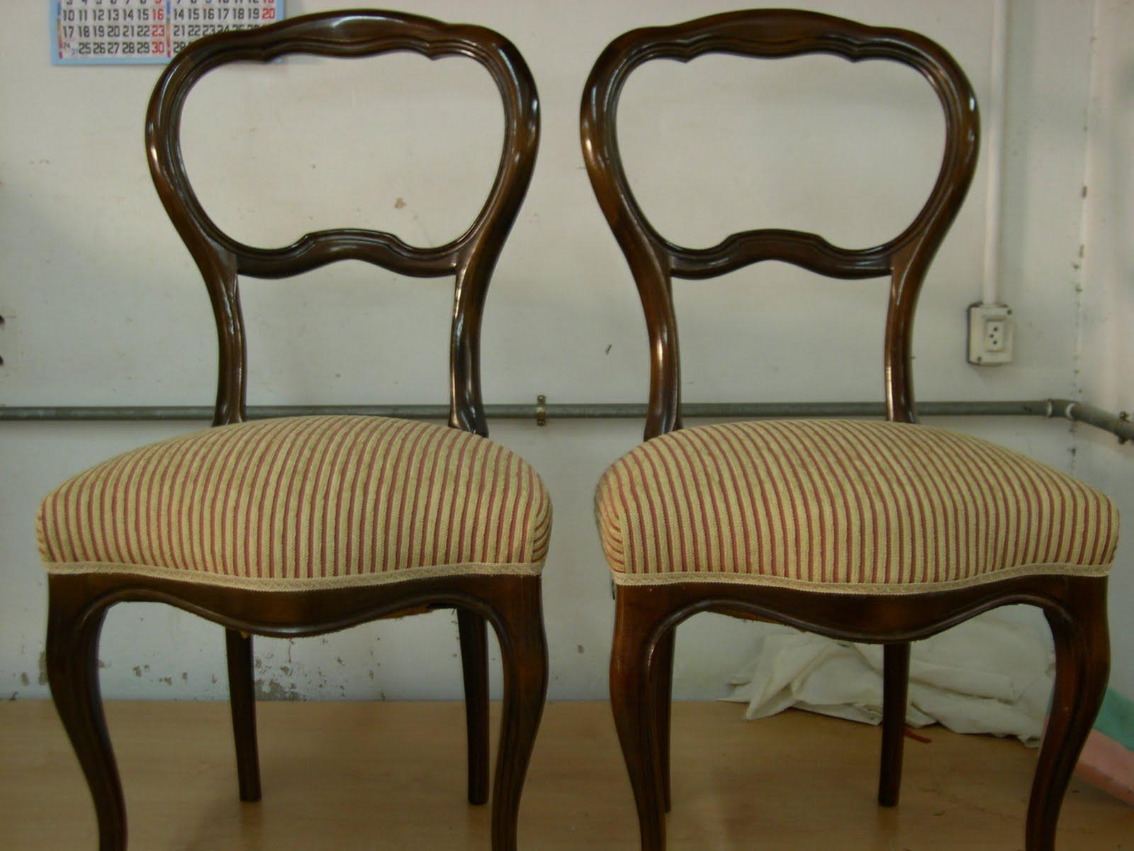 El tapicero de la reina for Telas para tapizar sillas comedor