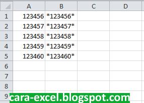 Cara Membuat Barcode dengan Excel
