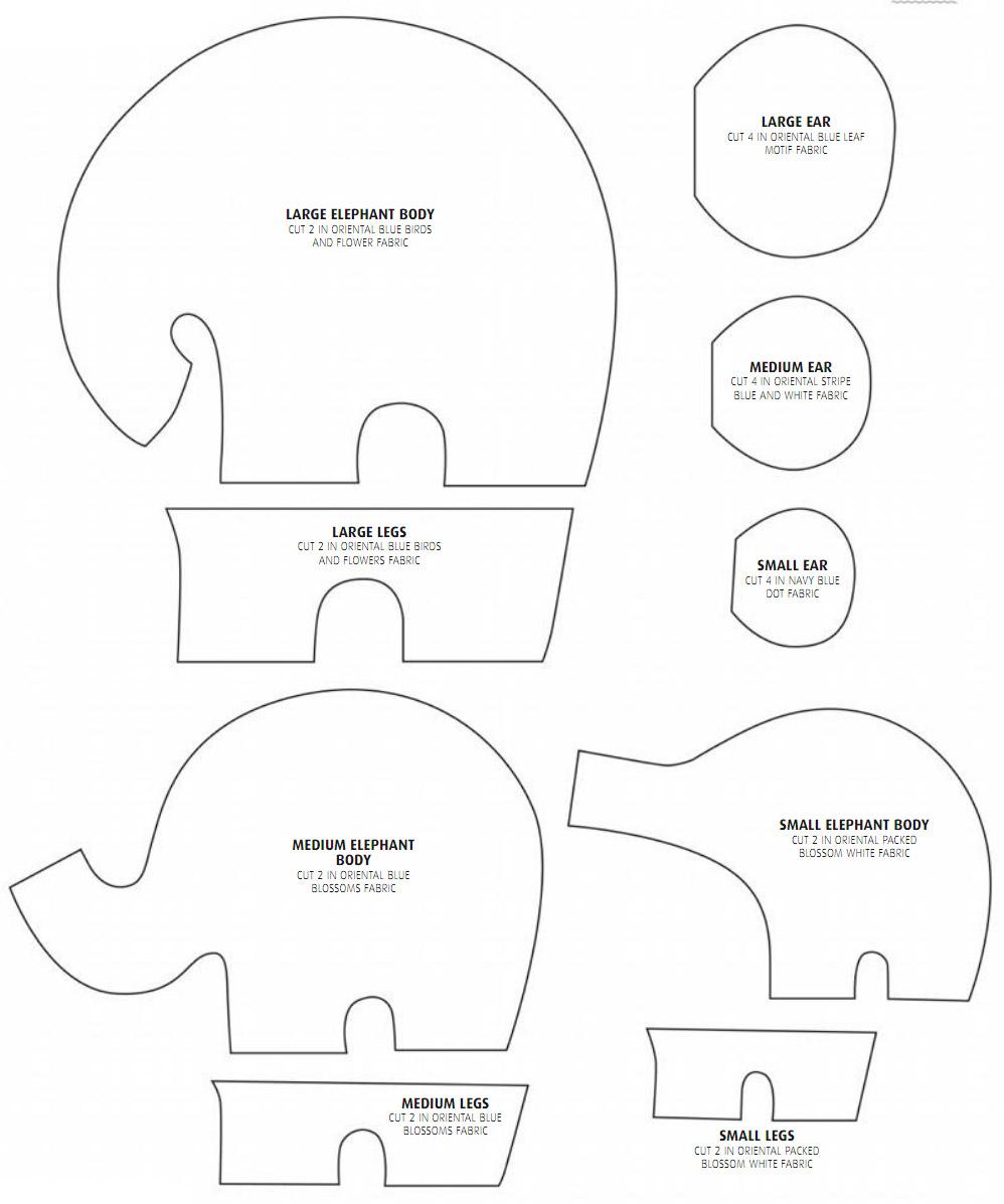 elephantastic how to sew an elephant diy tutorial ideas