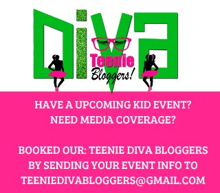 Booked Our Teenie Diva Bloggers!