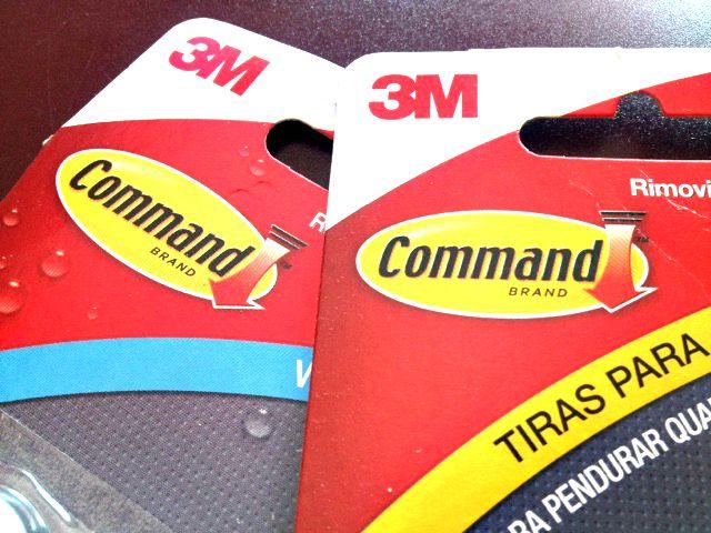 Miss beauty review tiras adhesivas 3m command perchas for Tiras para colgar cuadros