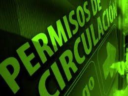 PERMISO DE CIRCULACION 2012