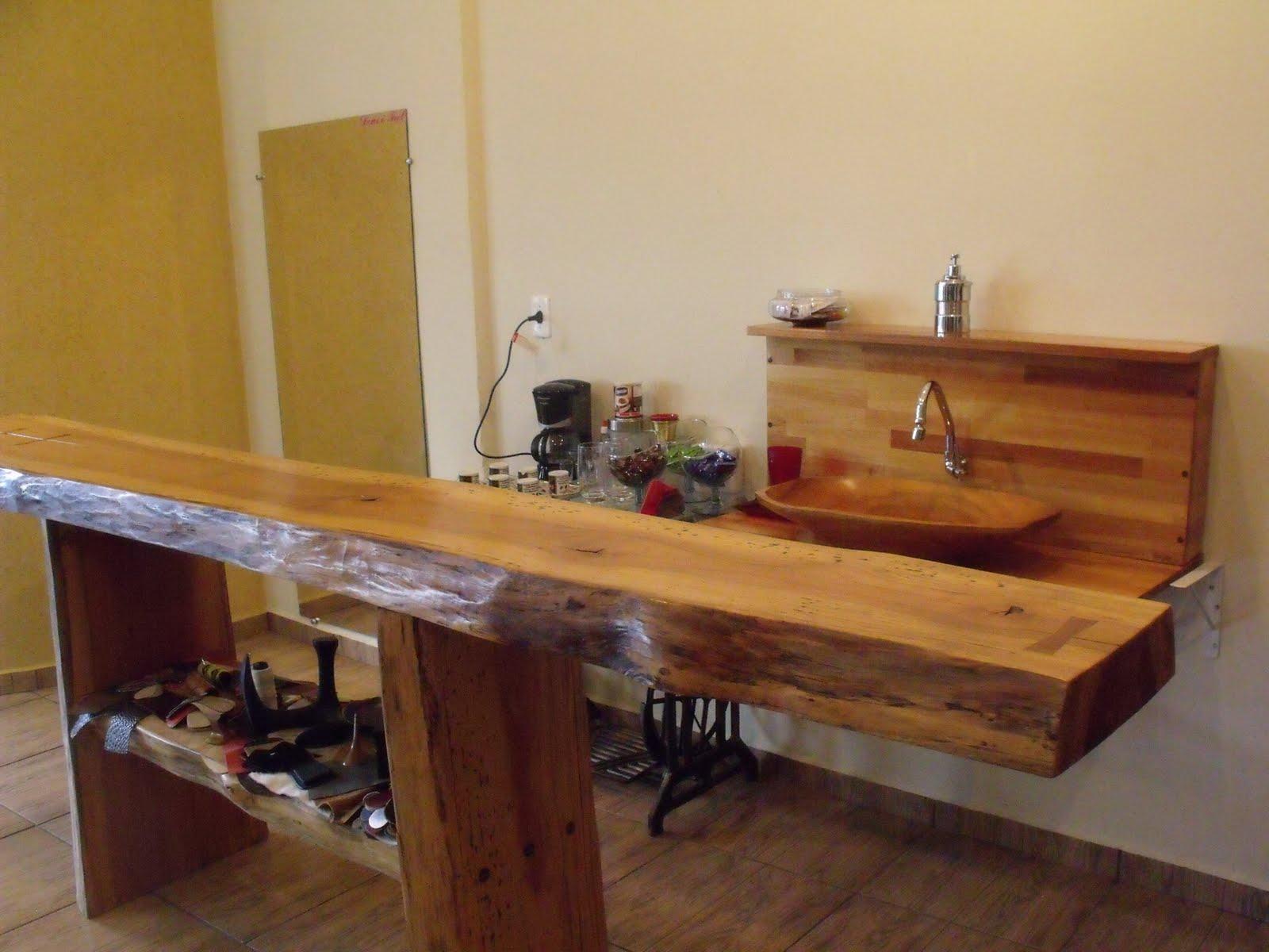 madeira (15) 32336176  81561044 Sorocaba SP: Balcão feito de tronco #967134 1600x1200