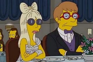 Lady Gaga aparecerá en un episodio de 'Los Simpson'