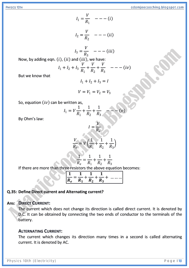 electricity-question-answers-physics-10th