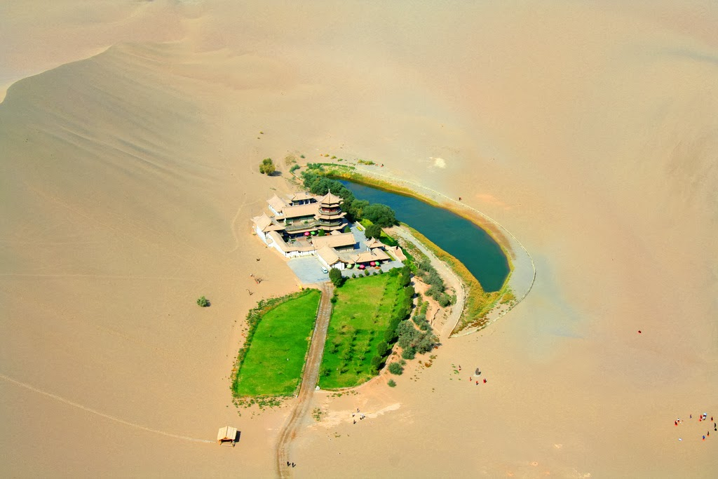 Crescent Lake (Dunhuang)