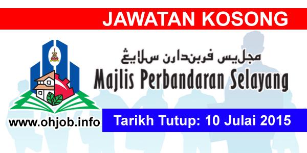 Jawatan Kerja Kosong Majlis Perbandaran Selayang (MPS) logo www.ohjob.info julai 2015