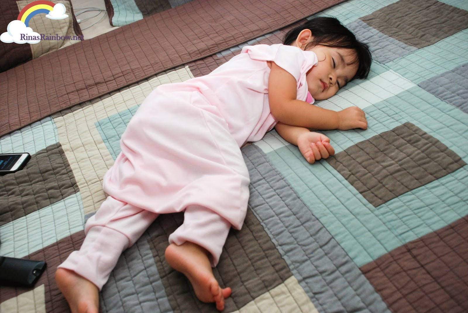 sleeping in HALO sleepsack