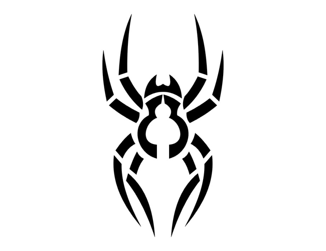 Cool Simple Tattoo Designs Spider Picture