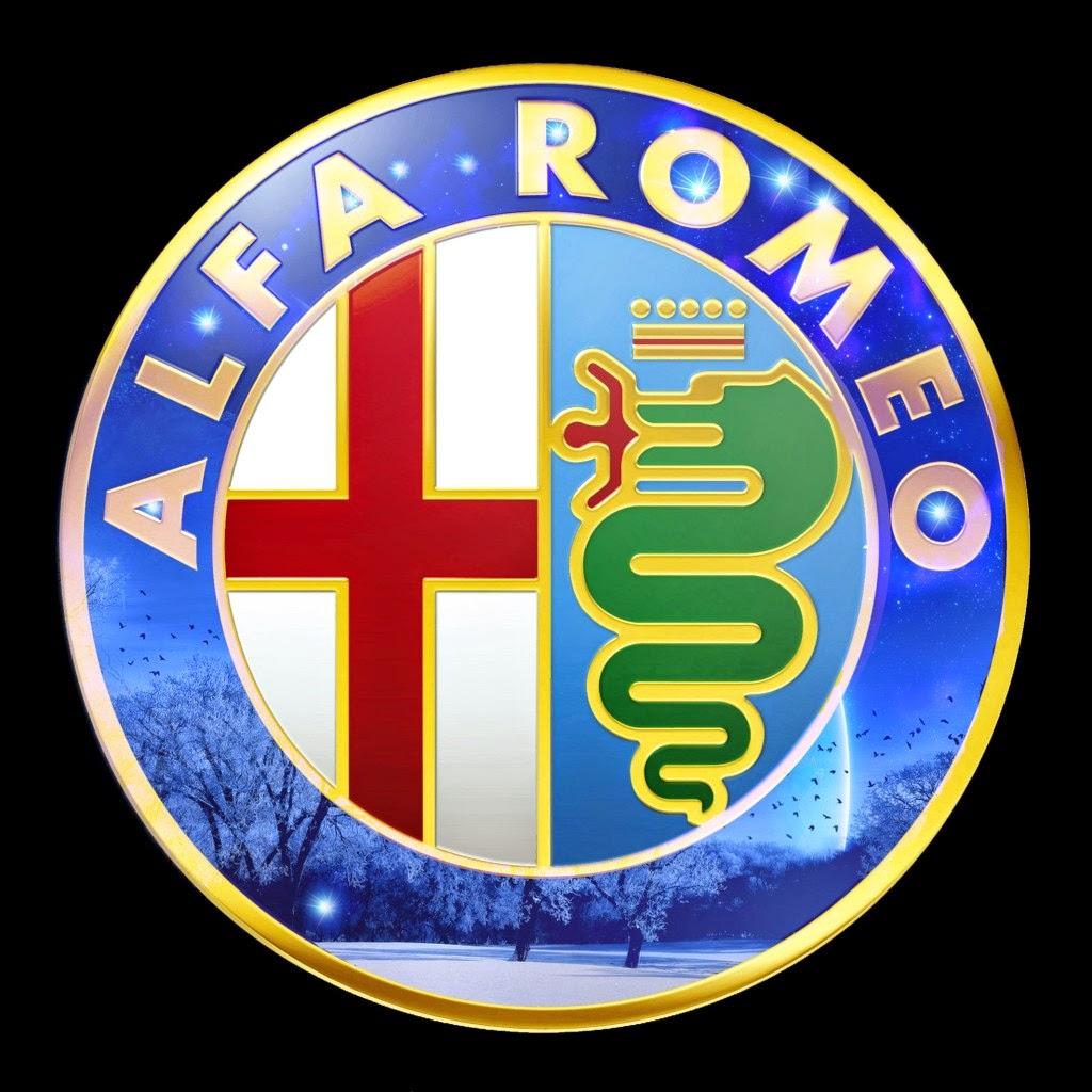 alfa romeo logo black