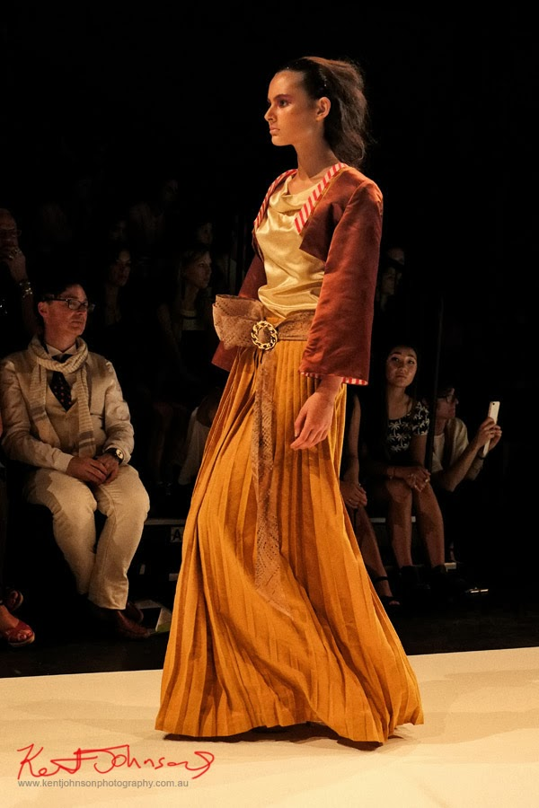 Mami Azuma,  New Byzantium : Raffles Graduate Fashion Parade 2013 - Photography by Kent Johnson.