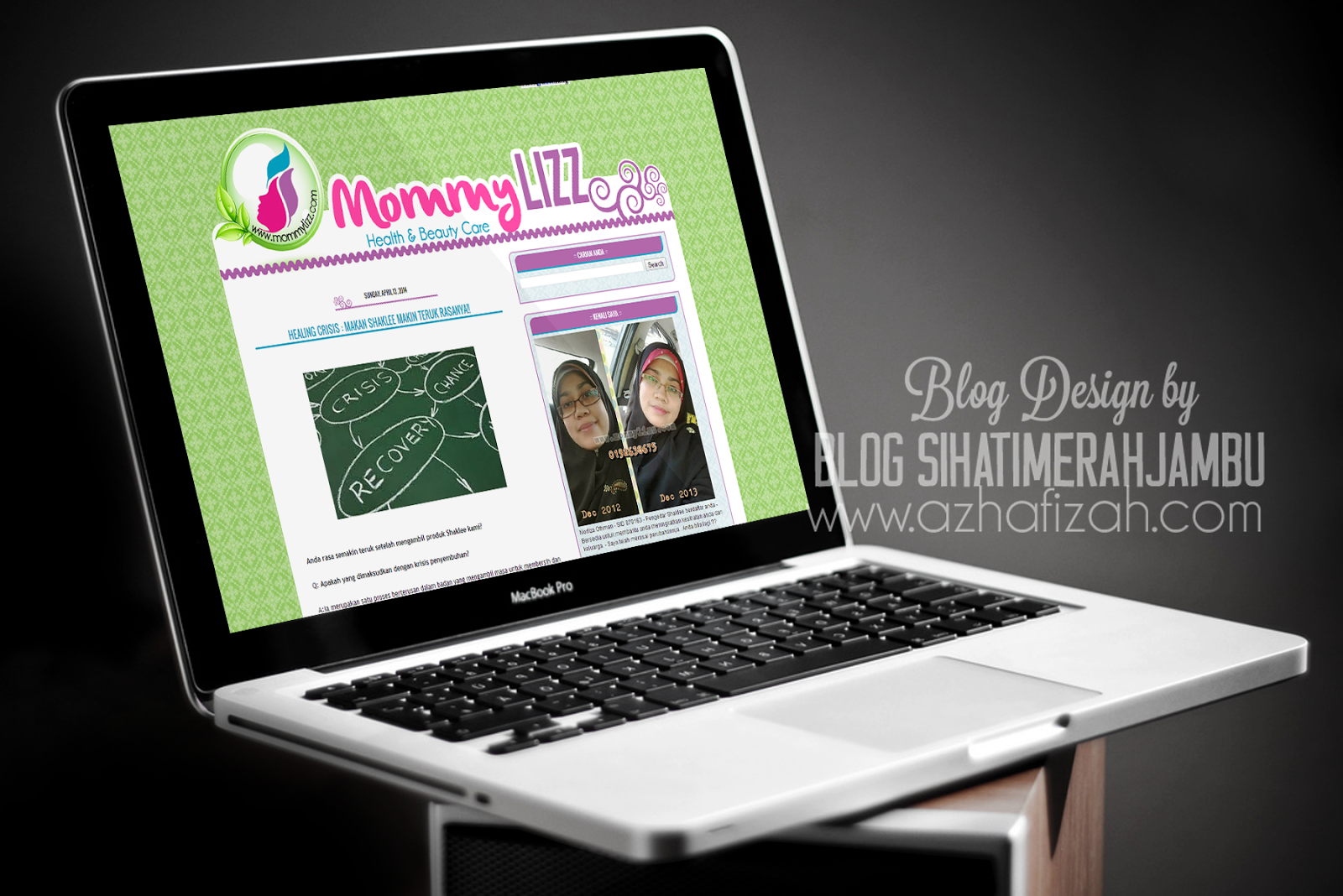 Design Full Template Blog Mommylizz com