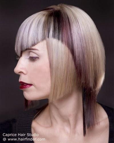 ideales para mujeres que no temen experimentar con las tendencias de pelo ms originales el estilo punk vuelvemuy renovadomezclando mechas y colores para - Cortes De Pelo Originales