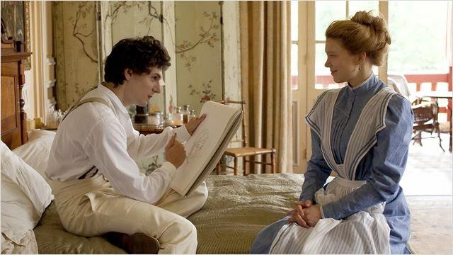 Vincent Lacoste et Léa Seydoux dans Journal d'une femme de chambre