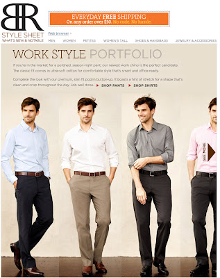 Click to view this May 2, 2011 Banana Republic email full-sized