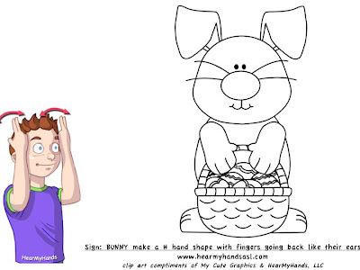 sign language rabbit