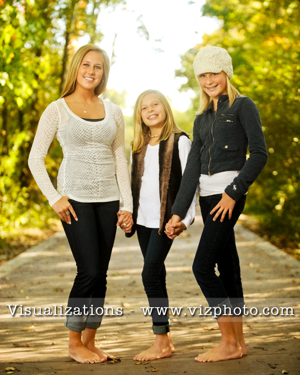 Thinking of gift ideas for the holiday season here are just a few examples from the last week of the changing landscape and three beautiful girls