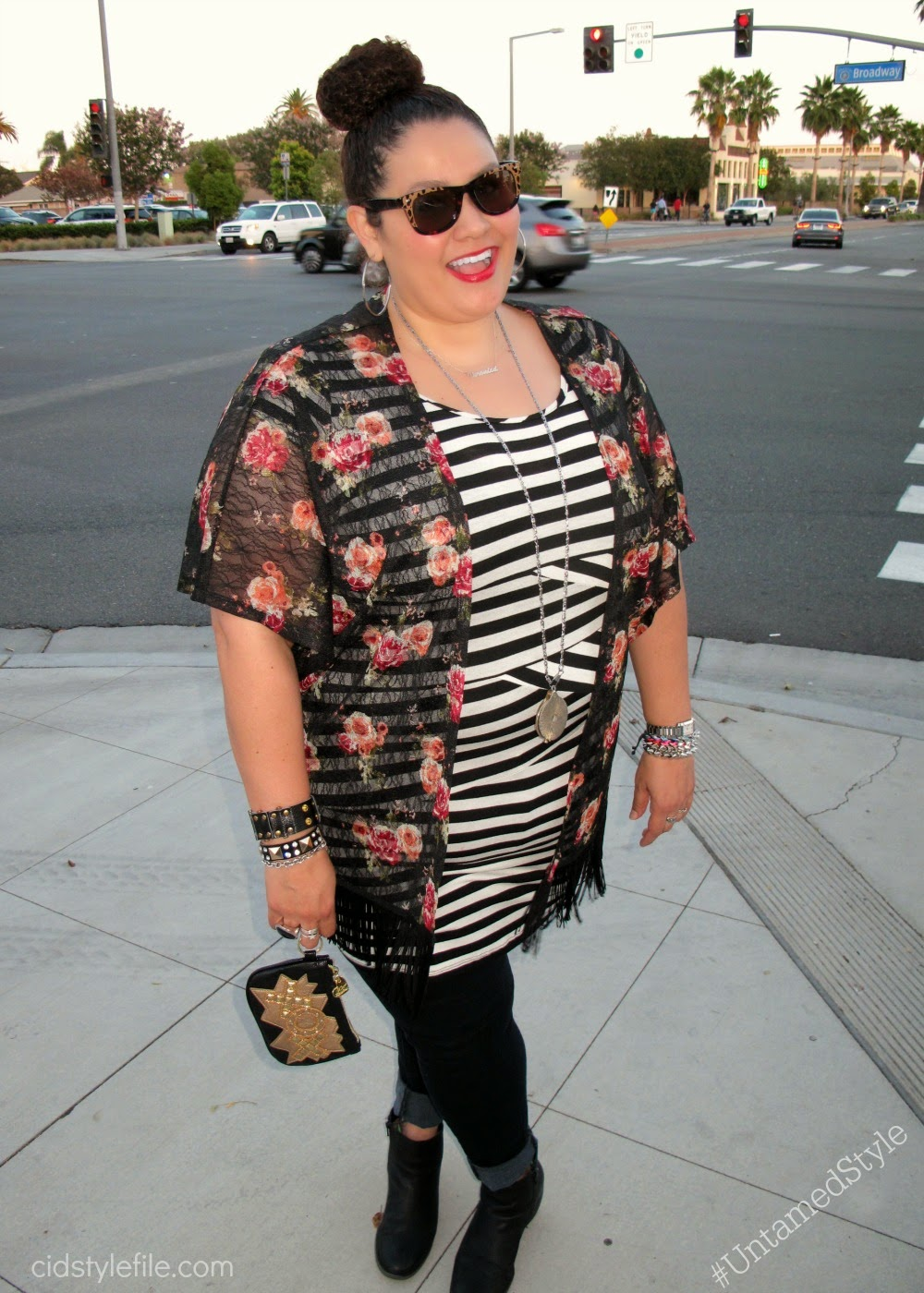 plus size fashion, latina style blogger, wet seal plus, g stage, style icon, untamed style, cid style file