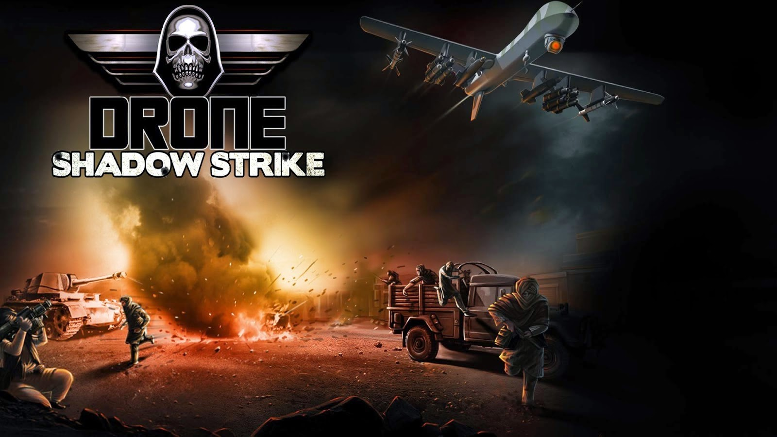 Drone Shadow Strike 1.3.05 MOD APK [Unlimited Coin/Cash]