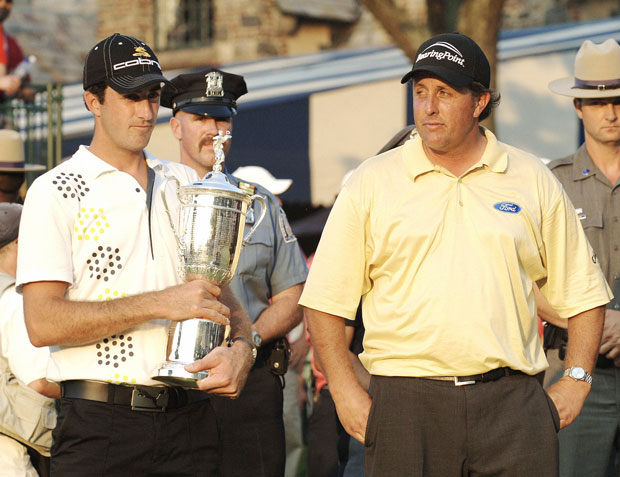 Phil Mickelson at the 2006 US Open