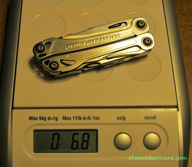 Leatherman Wingman Multi-Tool - On My Digital Scale