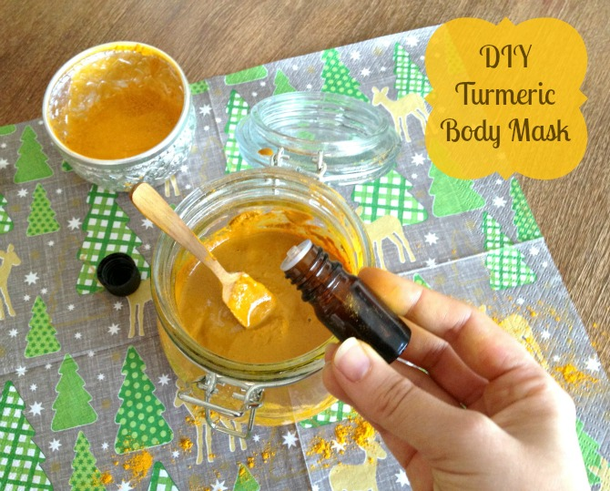 DIY Turmeric Body Mask