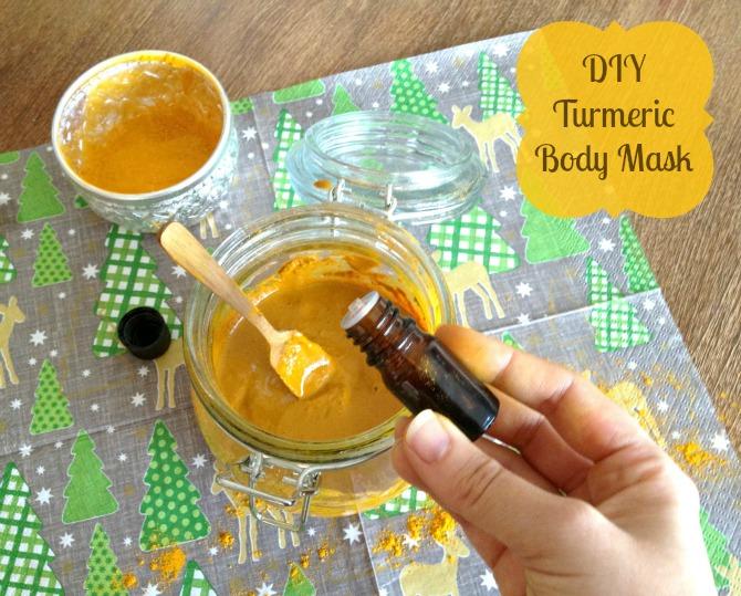 DIY Turmeric Body Mask