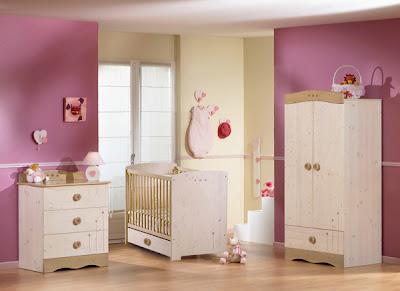 dormitorio bebé morado