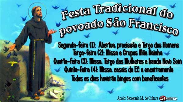 Festa Tradicional do povoado São Francisco