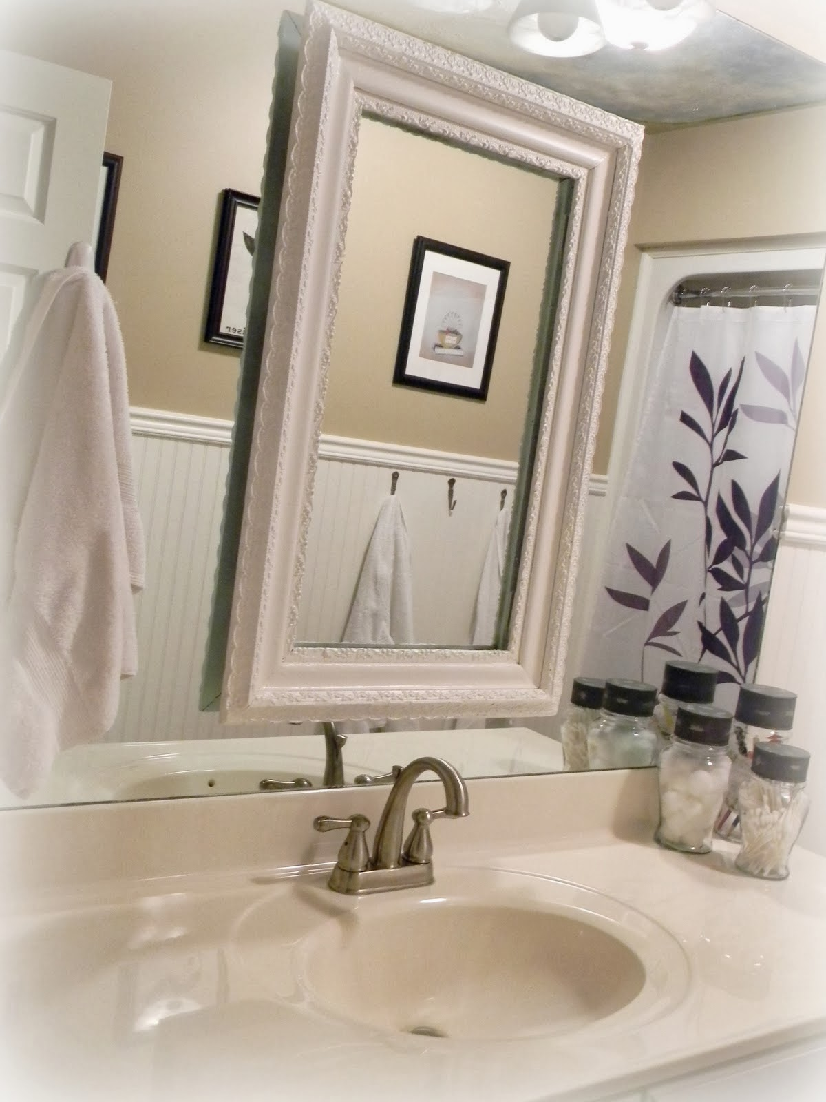 Updated Guest Bathroom Reveal!