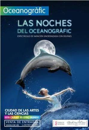 Noches del oceanogr fic infotendencias ocio y conciertos for Oceanografic telefono